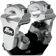 "Rox SPEED FX 2"" Pivotante Barra Elevadores Para Manillar 7/8"" - 1R-P2SSN - Plateado"
