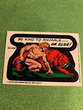 1974 1975 TOPPS MARVEL COMIC BOOK HEROES STICKERS • KA-ZAR