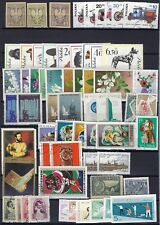 Europe 1900 1980 Collection Of 500 +Mostly Mint Never Hinged Few Used Many Topic