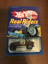 1980s Hot Wheels Real Riders Brown Jeep CJ-7 In Original Packaging