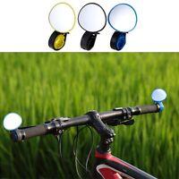 Adjustable 360° Rotatable Handlebar Rear Back View Mirror Cycling Bicycle Bike