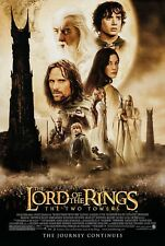 THE LORD OF THE RINGS: THE TWO TOWERS (2002) ORIGINAL MOVIE POSTER  -  ROLLED