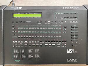 SOLTON KETRON MS-4 MIDI Expander Arranger Vintage Soundmodul Rar Synthesizer