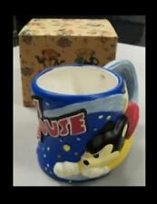 1997 Mighty Mouse Full Relief Collectible Mug by Terrytoons in Cartoon Style Box