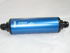 """Product Engineering 10AN Fuel Filter 60 micron 8 1/2 L X 2 """" DIA"""