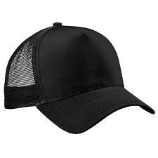 Mens Half Mesh Adjustable Trucker Cap Baseball Hat E9P9