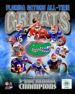 "Florida Gators Football All Time Greats Composite Photo (8"" x 10"")"