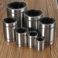LM12UU/LM30UU/LM35UU/LM40UU Linear Motion Ball Bearing Slide Bushing Bush Silver