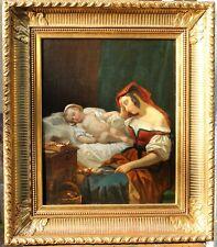 Louis Léopold ROBERT, tableau, Vierge à l'enfant, Jésus, Italie, Madonne