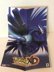 Pokemon XD Gale of Darkness Mini Poster Shadow Lugia Nintendo GameCube No Game