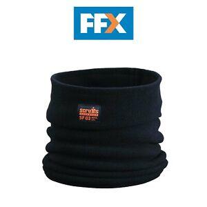 Scruffs T54307 Fleece Neck Warmer One Size Black Snood Winter Mask Face Cover