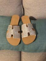 Flat Sandals Size 6.5