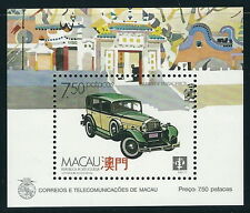 Macao - Moyens de transport Bloc 8 neuf 1988 Mi. 600