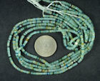 ANCIENT ROMAN GLASS HEISHI BEADS 1 STRAND 100- 200 BC 653