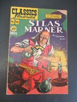 CLASSICS ILLUSTRATED #55 SILAS MARNER 1ST ED HRN 55 COMIC JAN/1949