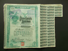 """BANCO CENTRAL MEXICANO """"BLUEBERRY"""" - 1908 - NOT CANCELLED"""