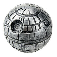 Portable 52mm 3 Layers Death Star Grinder Spice Herb Crusher Zinc Alloy with Box