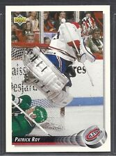 1992-93 Upper Deck Hockey - #149 - Patrick Roy - Montreal Canadiens
