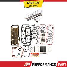 Full Gasket Set Intake Exhaust Valves Fit 99-03 Chrysler Dodge Jeep 4.7L SOHC