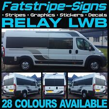 CITROEN RELAY L3 LWB GRAPHICS STICKERS STRIPES DECALS DAY VAN CAMPER MOTORHOME