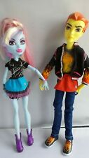 Monster High-Home Ick-Abbey Bominable & Heath Burns Muñecas-Paquete Doble