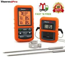 ThermoPro TP20 Wireless Digital Meat Thermometer Dual Probe With Remote For BBQ