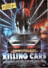 Killing Cars Filmposter A0 Jürgen Prochnow, Senta Berger, Agnès Soral, Casaro