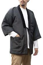 Men/'s Reversible Warm Room Wear Hanafuda JAPAN Japanese Hanten Kimono Jacket L