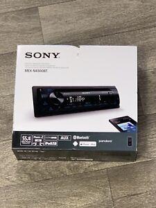 Sony MEX-N4300BT Bluetooth AM FM CD Car Stereo 1 DIN Front AUX USB New