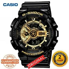 Original Casio G-Shock GA100 Men Sport Quartz Watch #110 black gold
