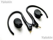 2 Earhooks with Metal Pins and 2 Eartips for Plantronics M50 M24 M20 Headsets