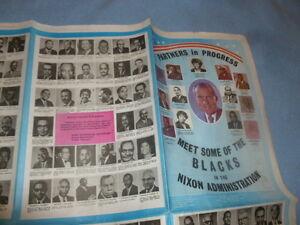 Richard Nixon African American Black Blacks Campaign Presidential 1972 President