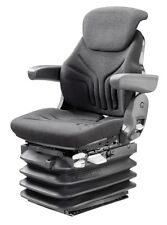 Grammer Schleppersitz Luftgefedert MSG 95G/721 12V Sondermodell Stoff schwarz