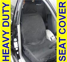 Universal car van 100% Waterproof Front Heavy duty Black Protectors seat covers