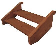Ezistep Merbau 2 Side Timbers 2 Step Stair Kit  Height  480mm Treads and Screws