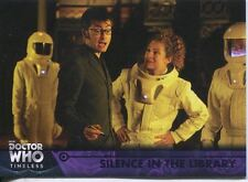 Doctor Who Timeless Purple Parallel [##/50] Base Card #63 Silence in the Library
