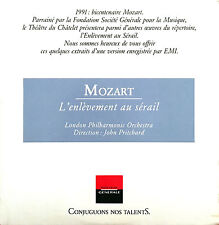 Mozart CD L'Enlèvement Au Sérail - Promo - France (EX/EX+)