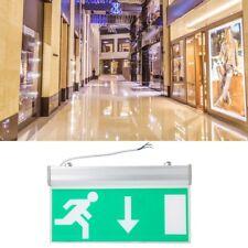 Acrylic LED Emergency Exit Sign Light Running Man Safety Indicator Light