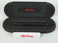 Rare Rotring 600 TRIO Pen Black / Bauhaus / Made in Germany Knurled Grip
