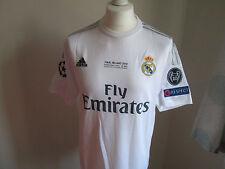 Real Madrid Champions League final 2016 Ronaldo shirt (Large)