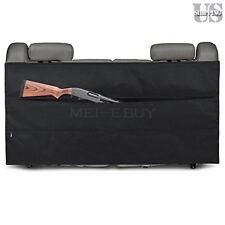 Back Seat Rifle Carrier Truck SUV Vehicle Gun Case Rack Holder Bag Hunting Black