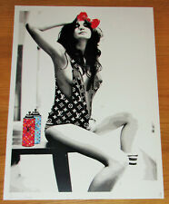 LARGE DEATH NYC Can Girl A/P Print - NYC COA & Sticker 45x32