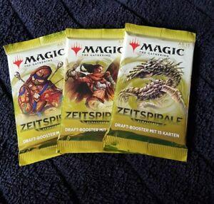 Magic the Gathering MTG Zeitspirale Timespiral Remastered Booster Deutsch 3 Stk