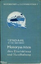 Motorschiff Jacht Bibliothek 6 Isendahl Motoryachten Einrichtung Nutzung 1921