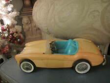 """Vintage Mattel 1960s Barbie's Austin Healy Sports Car 18/19""""L"""