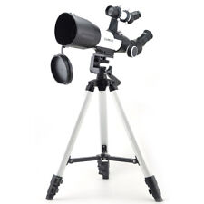 Visionking 70 MM Refractor Travel Astronomical Telescope Moon large tripod