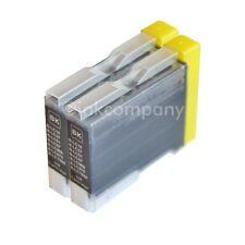 2x TINTENPATRONEN bk BROTHER LC-970 DCP 135c 150c 153c MFC 235c 260c 660cn