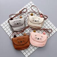 Cartoon Cat Ear Shoulder Bag Girl Coin Purse Lovely Mini Handbags Messenger Bag