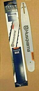 "Husqvarna XForce Chainsaw Pixel Guide Bar 18"" .325 050 for 445 450 etc 582075372"
