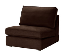 Original SLIPCOVER for KIVIK 1-seat Section from IKEA, Tullinge Dark Brown, NEW